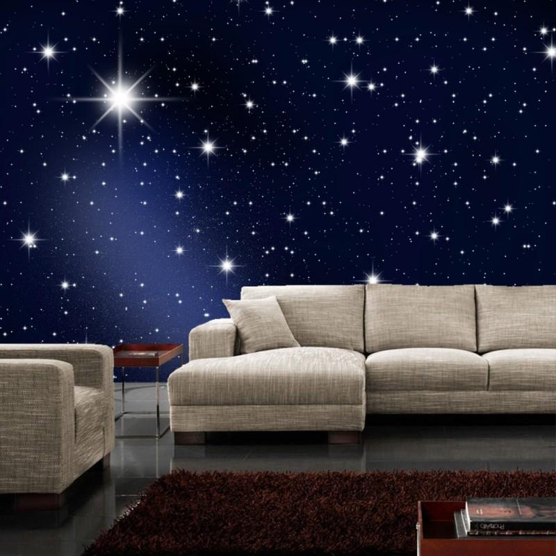 Fototapete sternenhimmel - Fototapete blau ...