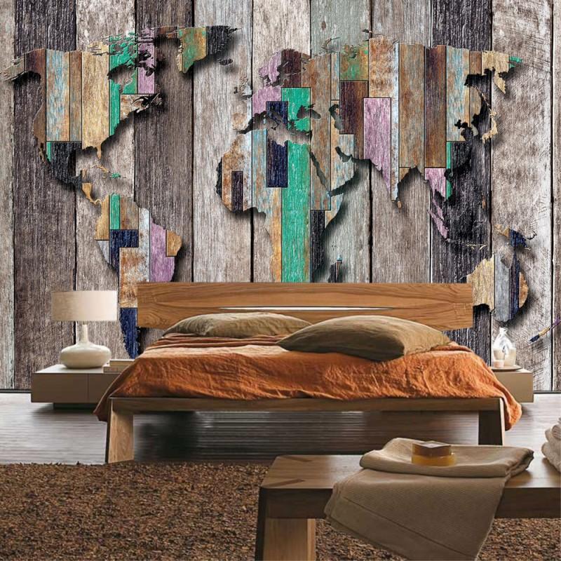 vlies fototapete no 2036 vliestapete liwwing r holz tapete holzwand holzoptik holz paneele. Black Bedroom Furniture Sets. Home Design Ideas
