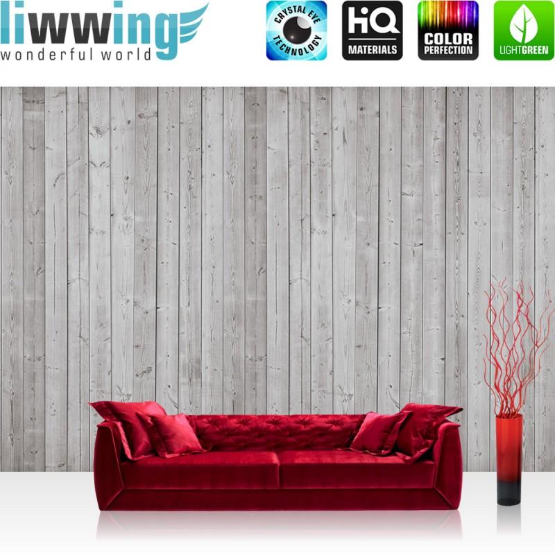 vlies fototapete no 2080 holz tapete holzwand holzoptik holz paneele grau ebay. Black Bedroom Furniture Sets. Home Design Ideas