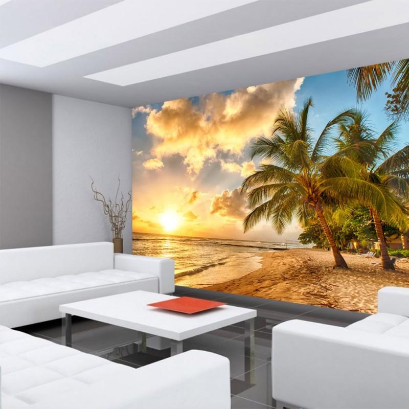 fototapete sonnenaufgang strand. Black Bedroom Furniture Sets. Home Design Ideas