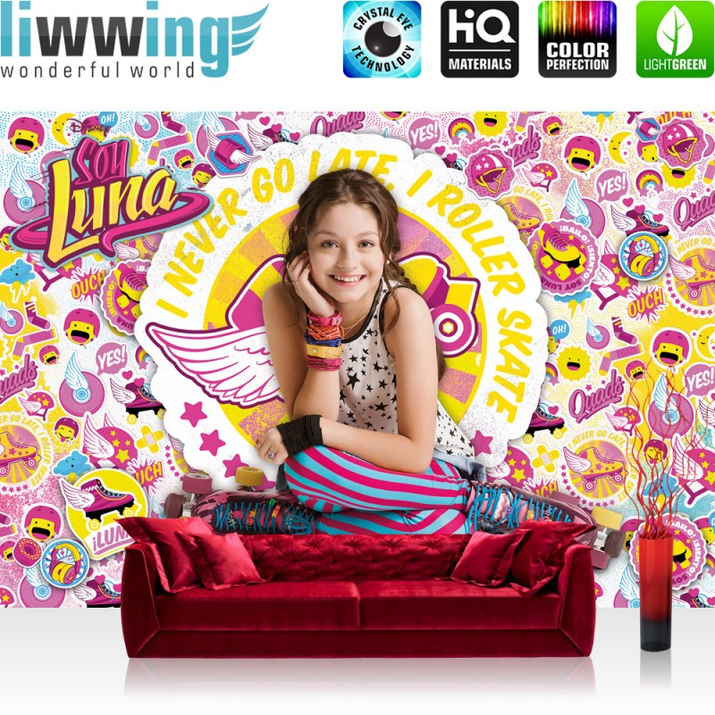 vlies fototapete no 2172 m dchen tapete disney soy luna soy luna disney kindertapete roller. Black Bedroom Furniture Sets. Home Design Ideas