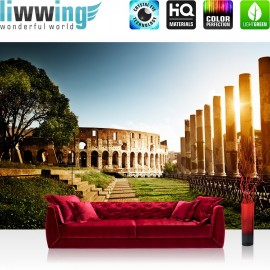 PREMIUM Fototapete - no. 52 | Colosseum Walk - Rome | Rom Kolosseum Italien Landschaft Architektur