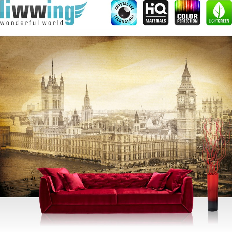 photo collection vlies tapete london big. Black Bedroom Furniture Sets. Home Design Ideas