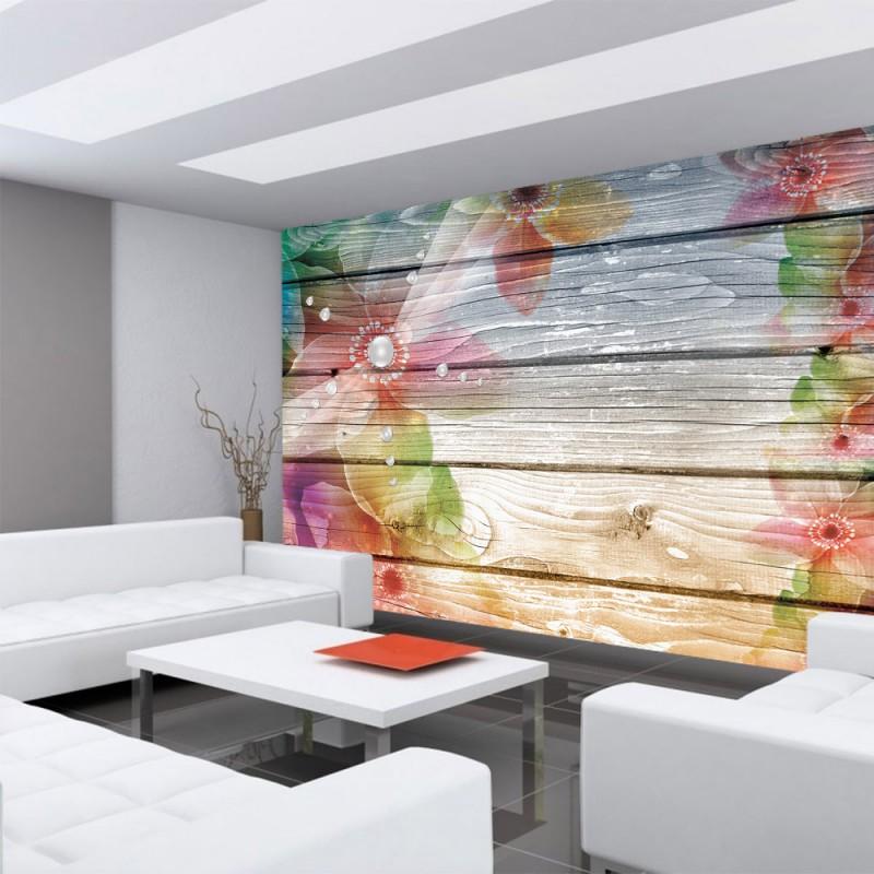 vlies fototapete no 2296 vliestapete liwwing r holz. Black Bedroom Furniture Sets. Home Design Ideas