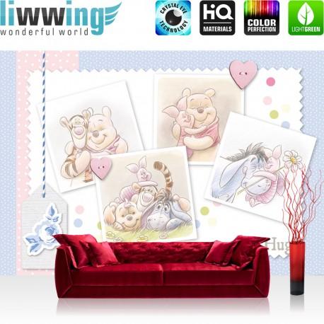 vlies fototapete no 2343 vliestapete liwwing r disney tapete kindertapete cartoon winnie. Black Bedroom Furniture Sets. Home Design Ideas