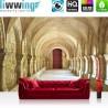 PREMIUM Fototapete - no. 65 | Colonnaded Arcades | Arkaden 3D Perspektive Gewölbe Säulen Spanien