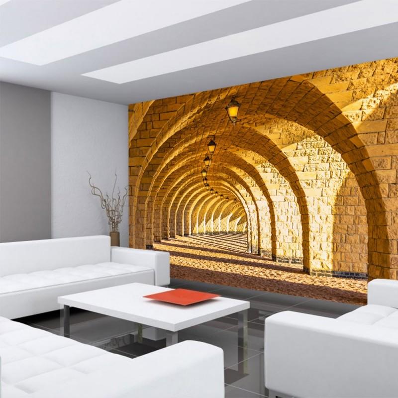 Selbstklebende Tapete Cars : Fototapete Sandstein Steinwand Wall Of Sandstones 400×280 Cm Pictures