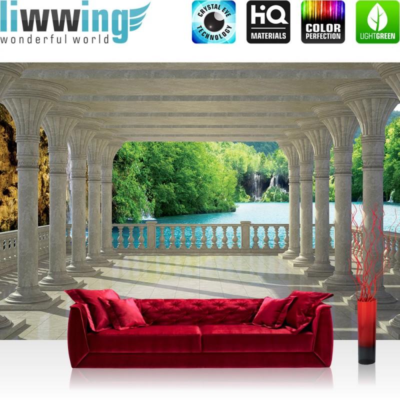 vlies fototapete no 2503 vliestapete liwwing r With balkon teppich mit decke tapete vlies