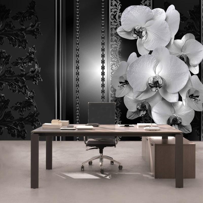 vlies fototapete no 2636 vliestapete liwwing r orchideen tapete blumen bl ten orchideen. Black Bedroom Furniture Sets. Home Design Ideas