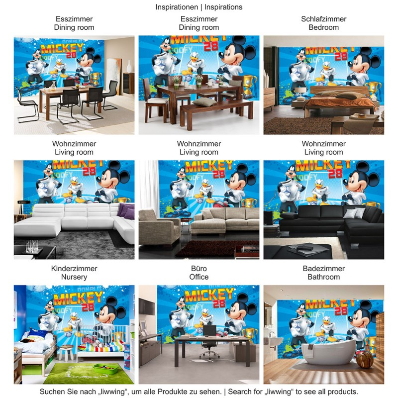 disney micky maus kinderzimmer amazing part 4 identifikuj. Black Bedroom Furniture Sets. Home Design Ideas