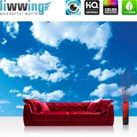 "Vlies Fototapete ""no. 2750"" | Himmel Tapete Wolken Natur blau | liwwing (R)"