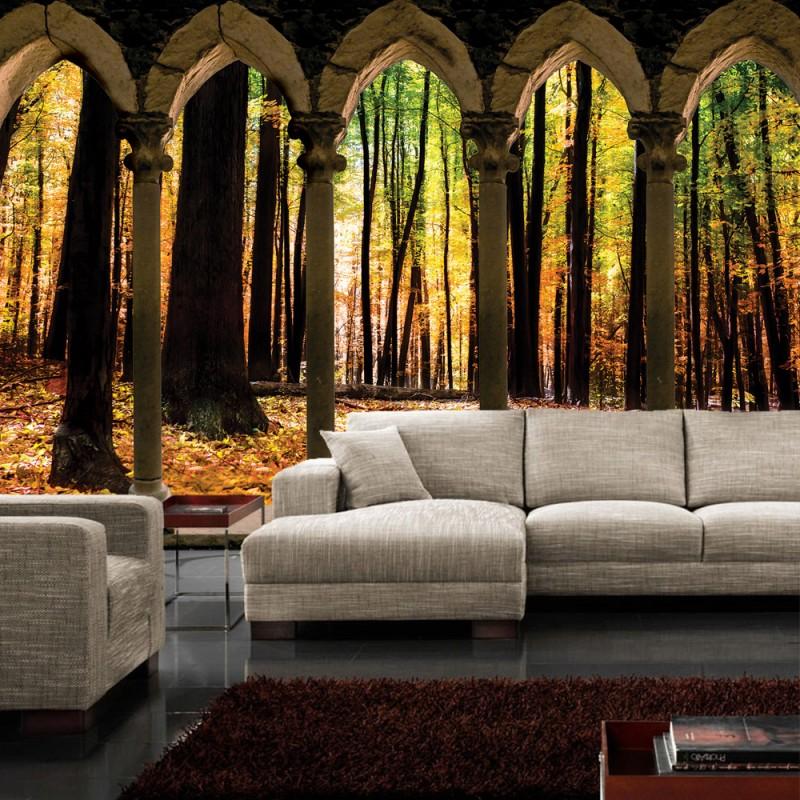 vlies fototapete no 2801 vliestapete liwwing r wald. Black Bedroom Furniture Sets. Home Design Ideas