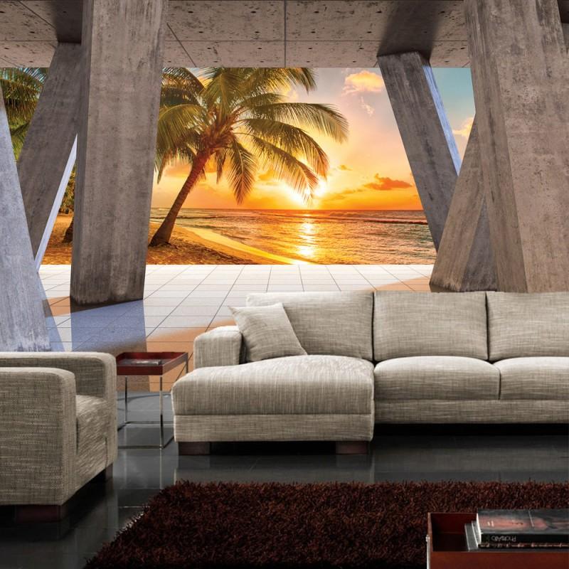 Fototapete schlafzimmer sonnenuntergang for Fototapete schlafzimmer