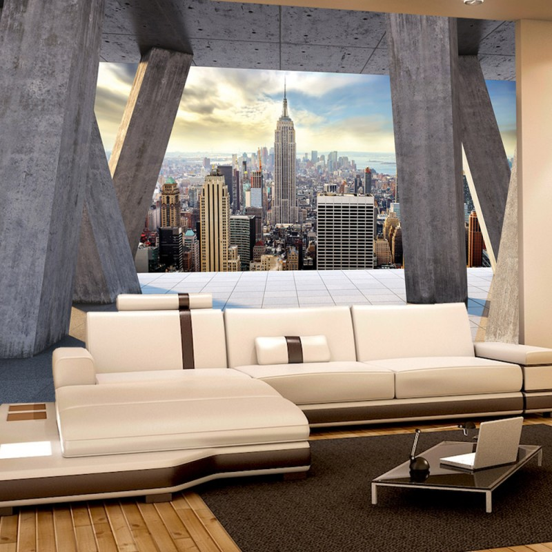 vlies fototapete no 2816 vliestapete liwwing r new With balkon teppich mit new york skyline tapete