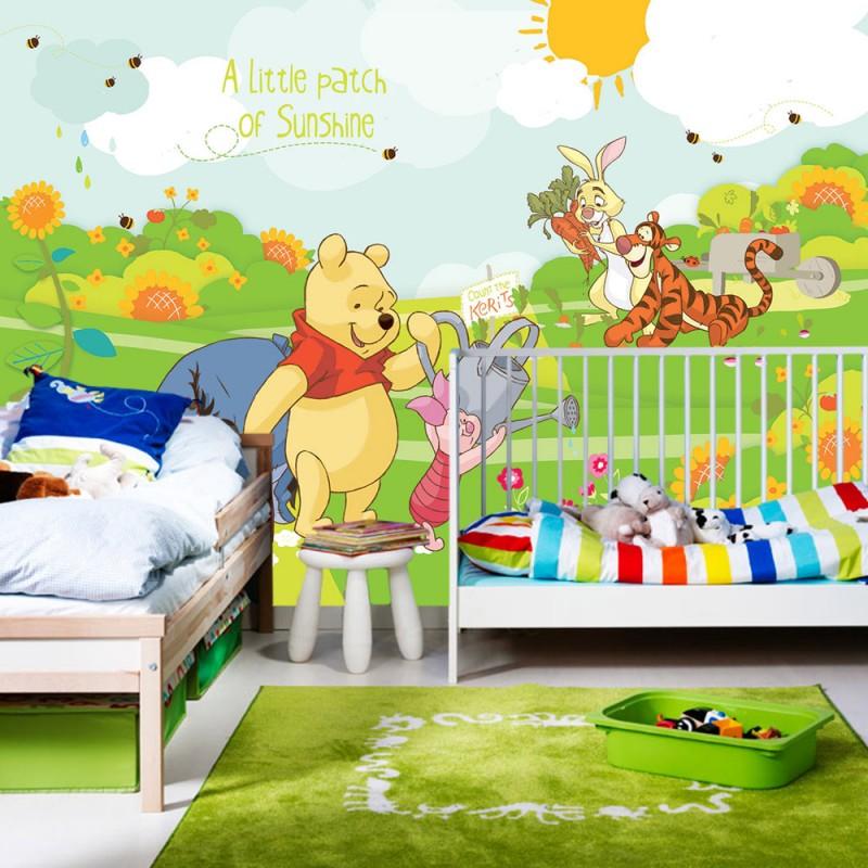 winnie pooh tapeten. Black Bedroom Furniture Sets. Home Design Ideas