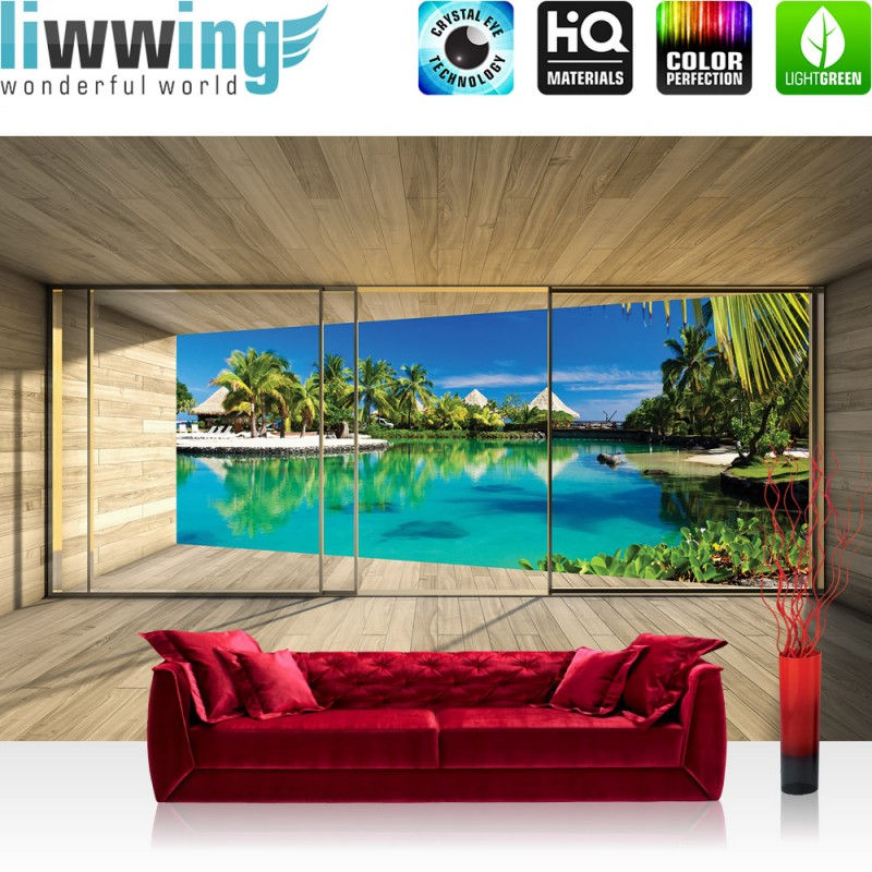 vlies fototapete no 2913 architektur tapete terrasse. Black Bedroom Furniture Sets. Home Design Ideas