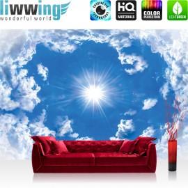 "Vlies Fototapete ""no. 3075"" | Himmel Tapete Wolken Sonne blau | liwwing (R)"