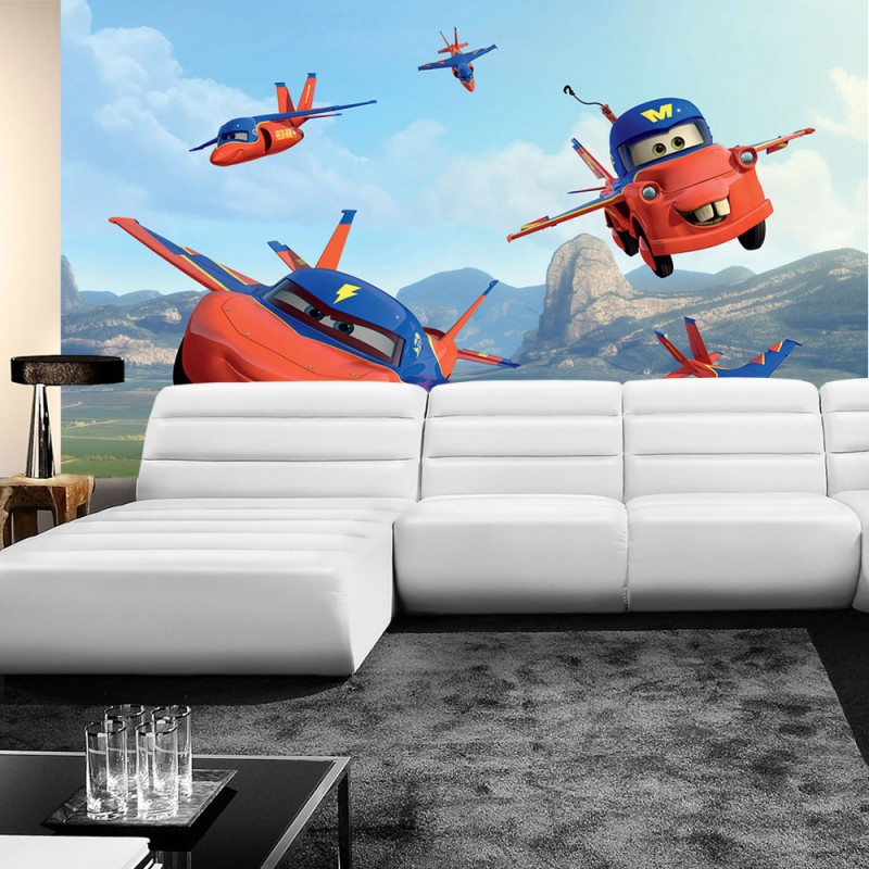 vlies fototapete no 926 disney tapete cars. Black Bedroom Furniture Sets. Home Design Ideas