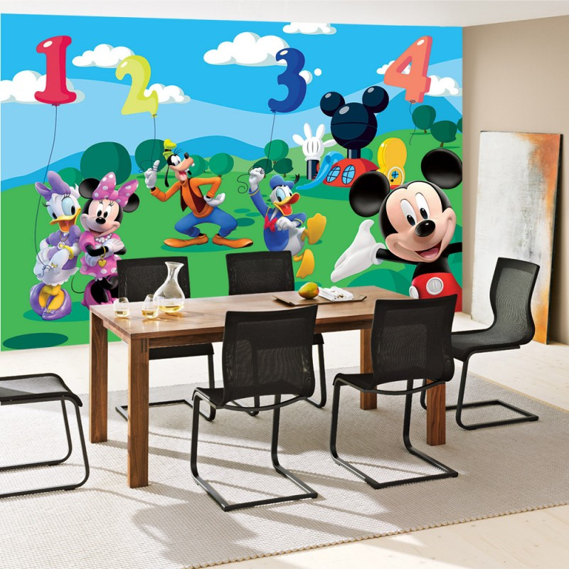 vlies fototapete no 997 disney tapete micky maus kindertapete cartoon comic goofy donald. Black Bedroom Furniture Sets. Home Design Ideas