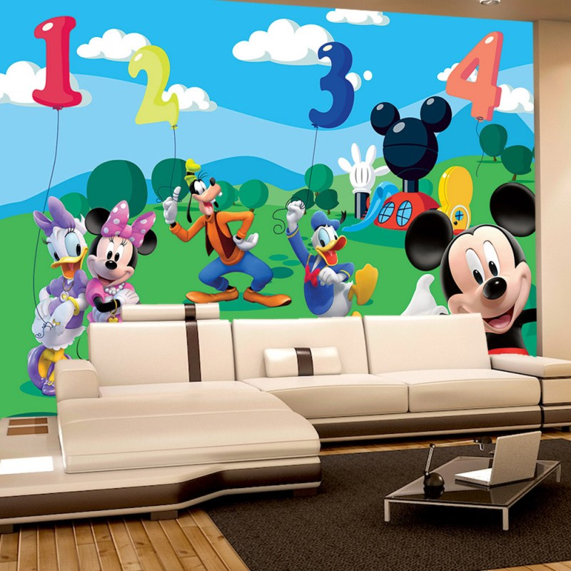 vlies fototapete no 997 disney tapete micky maus. Black Bedroom Furniture Sets. Home Design Ideas