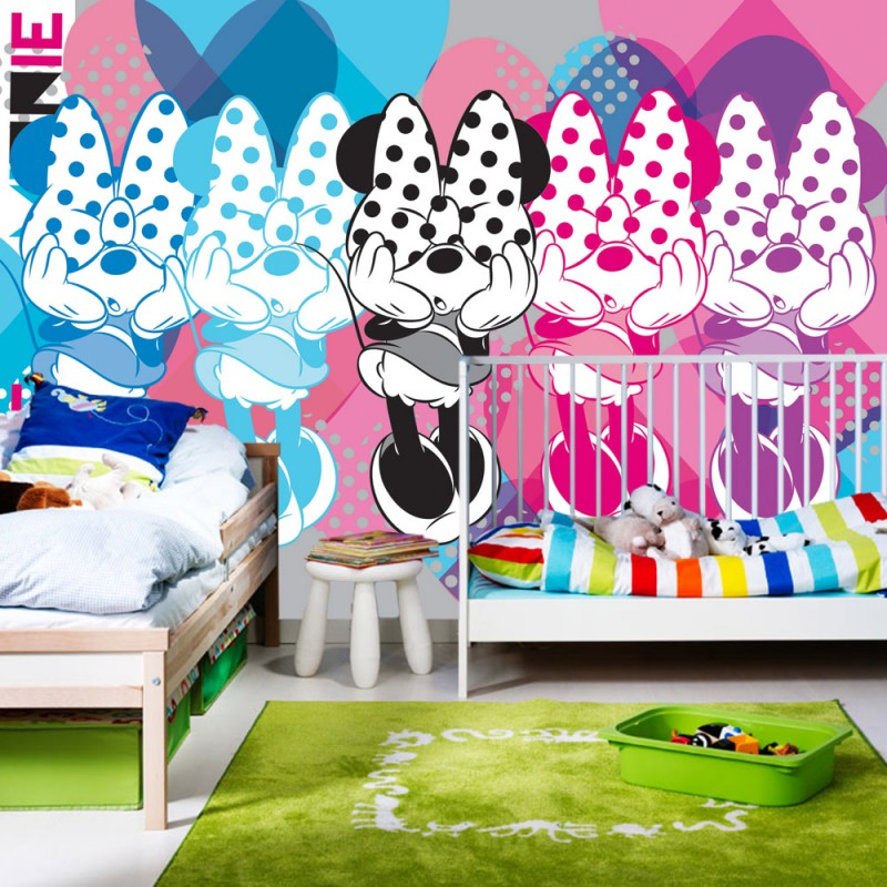 vlies fototapete no 1070 disney tapete micky maus. Black Bedroom Furniture Sets. Home Design Ideas