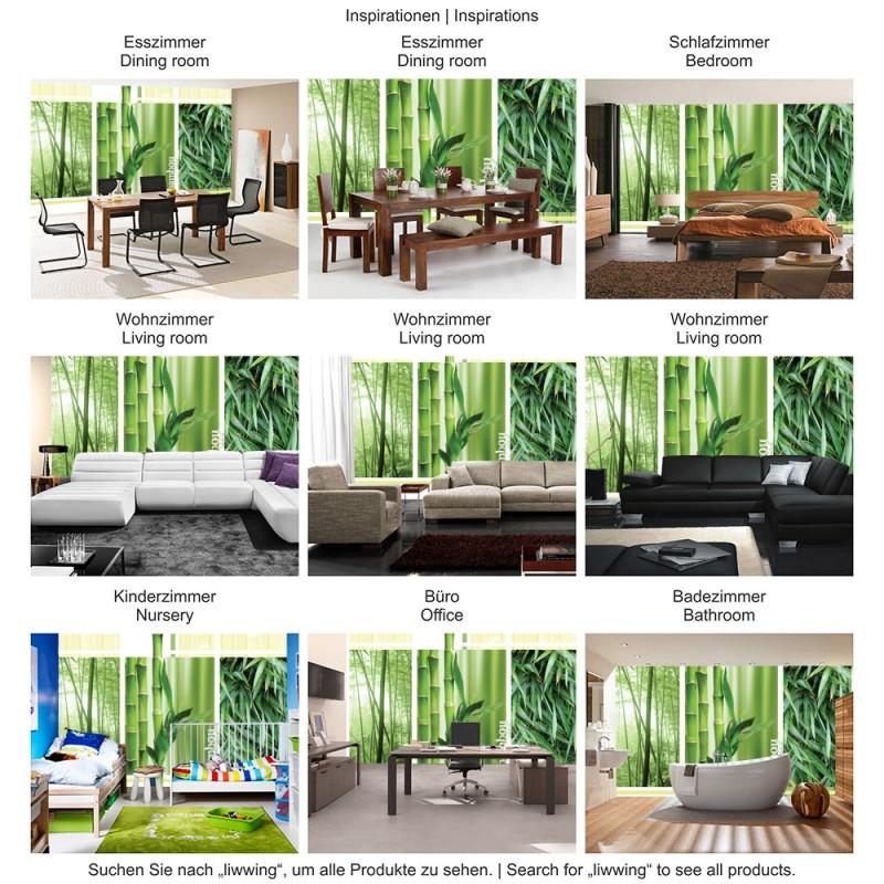 vlies fototapete no 539 vliestapete liwwing r bambus. Black Bedroom Furniture Sets. Home Design Ideas