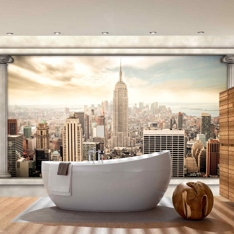 vlies fototapete no 1382 vliestapete liwwing r new york tapete manhattan st dte l nder. Black Bedroom Furniture Sets. Home Design Ideas