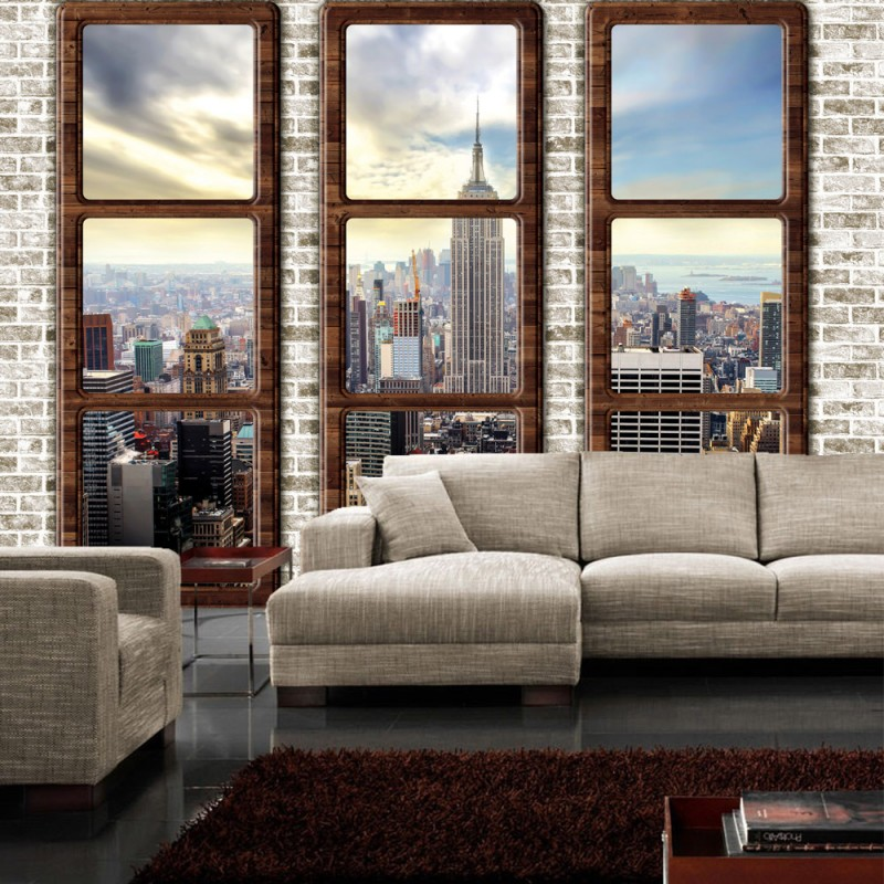 vlies fototapete no 2727 vliestapete liwwing r new york tapete manhattan st dte l nder. Black Bedroom Furniture Sets. Home Design Ideas