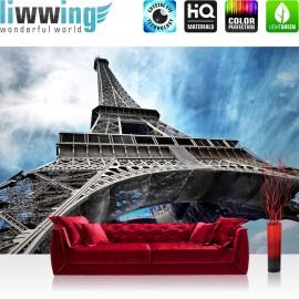 "Vlies Fototapete ""no. 2980"" | Frankreich Tapete Eifelturm Paris Stadt blau | liwwing (R)"