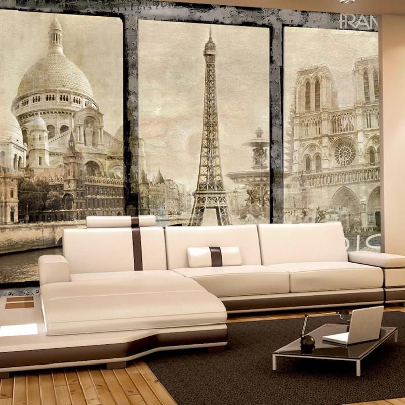 vlies fototapete no 2988 vliestapete liwwing r frankreich tapete paris sehensw rdigkeiten. Black Bedroom Furniture Sets. Home Design Ideas