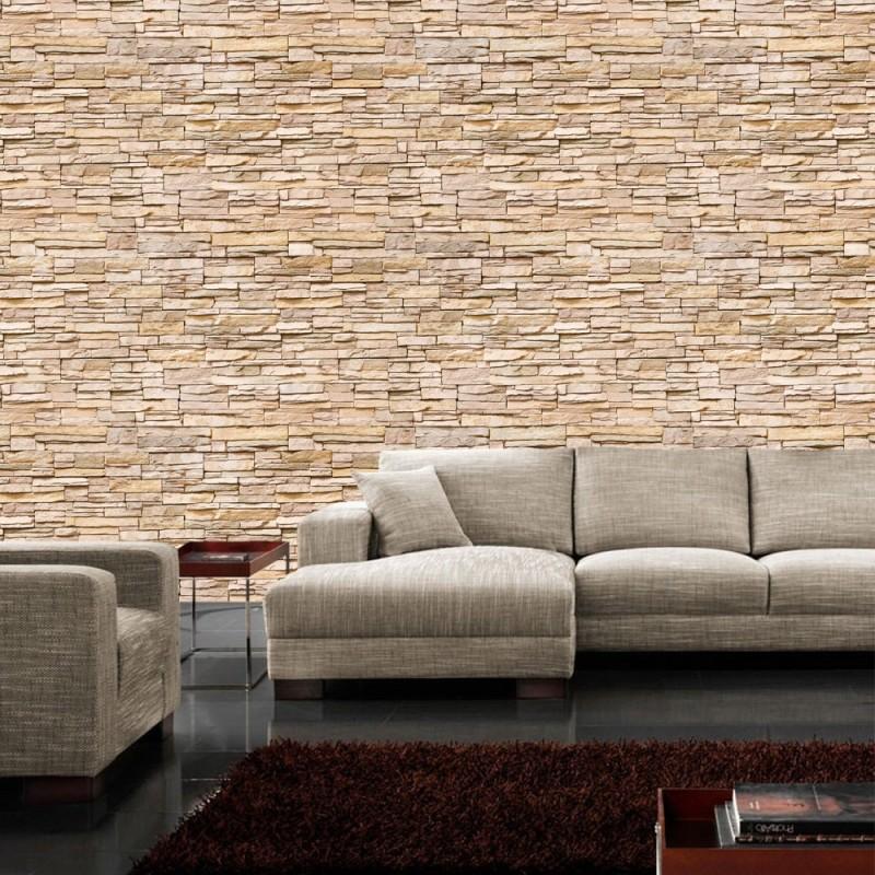 liwwing r marken vlies fototapete asian brick stone. Black Bedroom Furniture Sets. Home Design Ideas