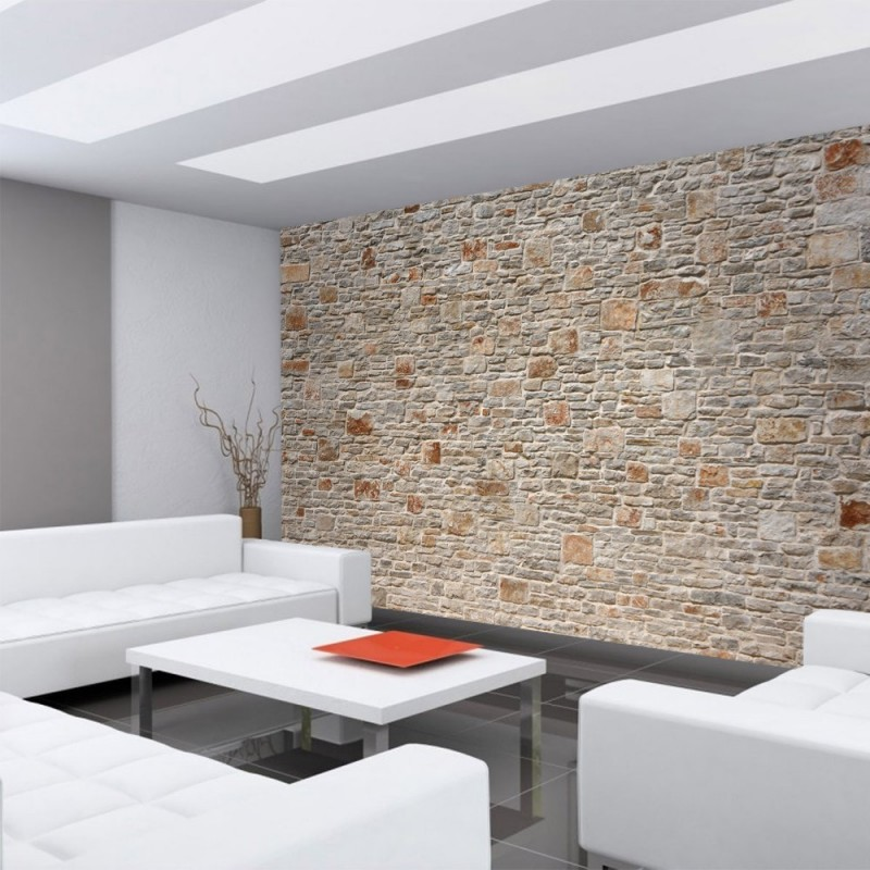 steinwand tapete 3d beste bildideen zu hause design. Black Bedroom Furniture Sets. Home Design Ideas