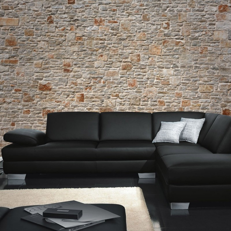 liwwing r marken vlies fototapete royal stone wall. Black Bedroom Furniture Sets. Home Design Ideas