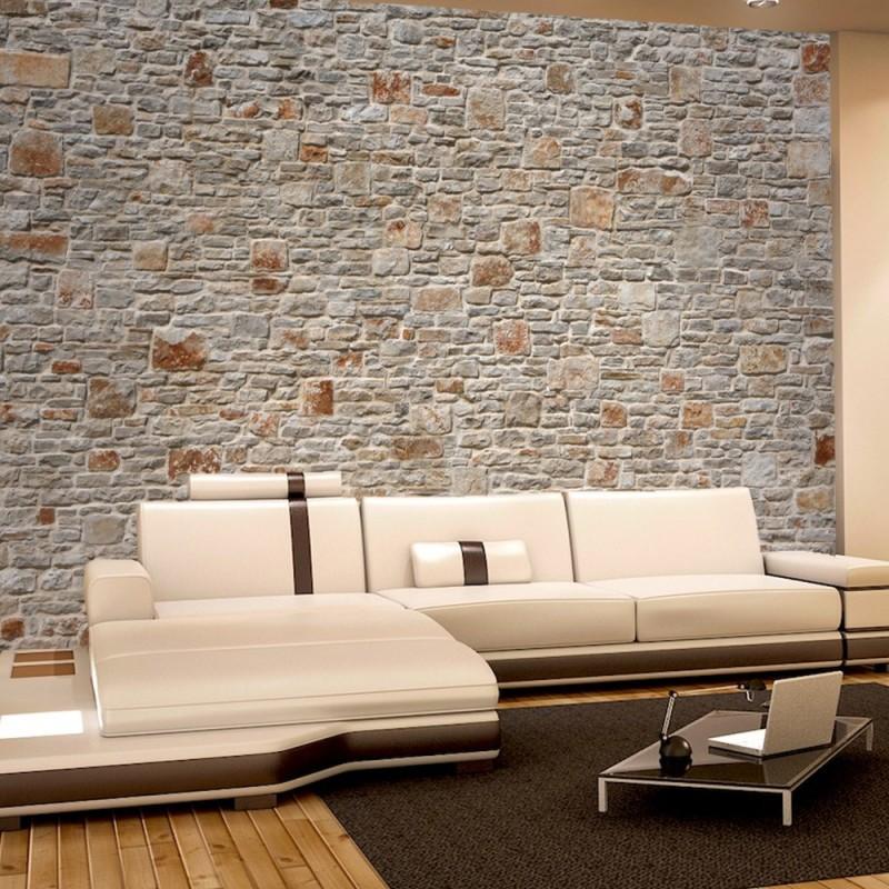 vlies fototapete royal stone wall steinwand tapete steinoptik steine wand wall 3d effekt. Black Bedroom Furniture Sets. Home Design Ideas