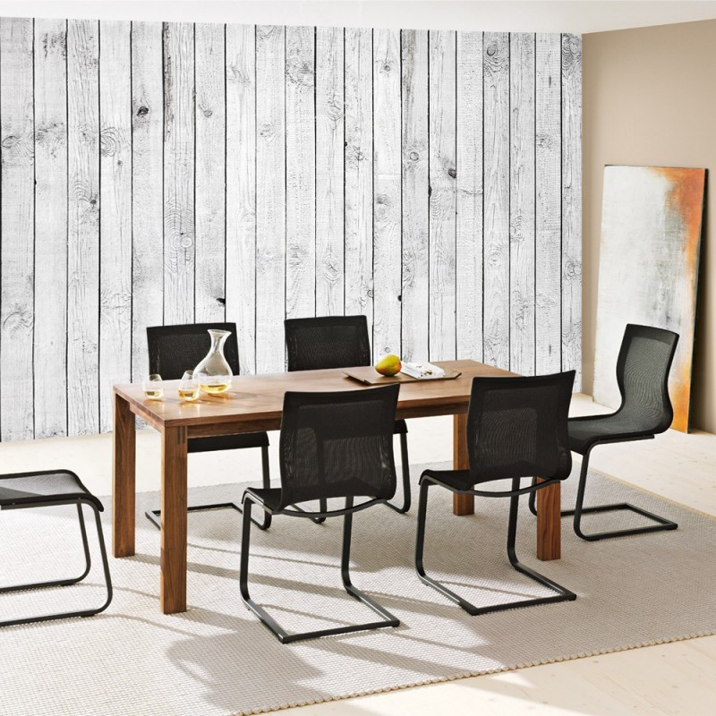 "fototapete ""white painted wooden wall"" | holz tapete holzoptik, Wohnideen design"