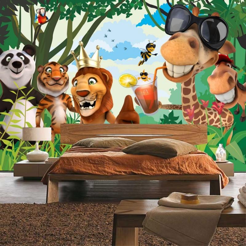 Fototapete Tiere Kinderzimmer Dekoration Bild Idee