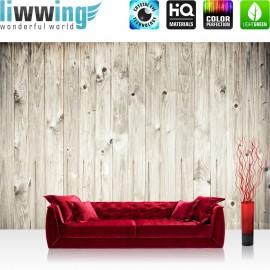 PREMIUM Fototapete - no. 91 | weathered wood plank | Holzoptik Holzwand, Holzpaneel, weißes Holz