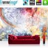 Vlies Fototapete no. 3174 | Kunst Tapete abstrakt, modern, Wirbel, fließend bunt | liwwing (R)