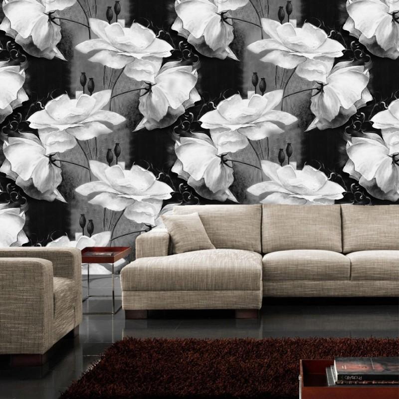 vlies fototapete no 3184 vliestapete liwwing r blumen. Black Bedroom Furniture Sets. Home Design Ideas