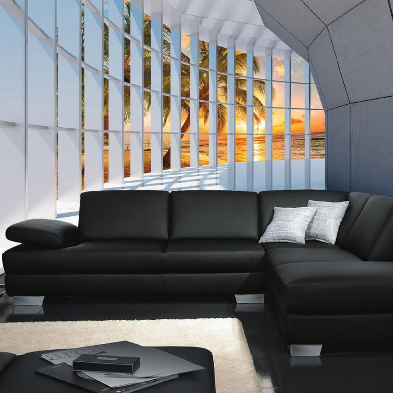 vlies fototapete no 3196 vliestapete liwwing r meer tapete sonnenuntergang palmen s dsee. Black Bedroom Furniture Sets. Home Design Ideas