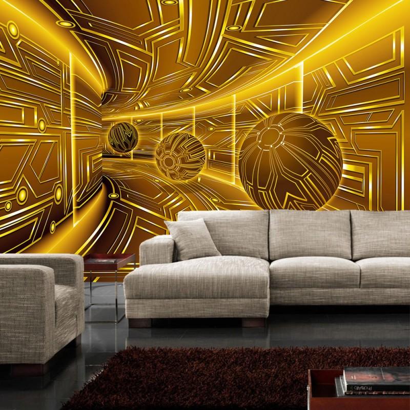 Vlies fototapete no 3219 vliestapete liwwing r 3d for 3d tapete gold