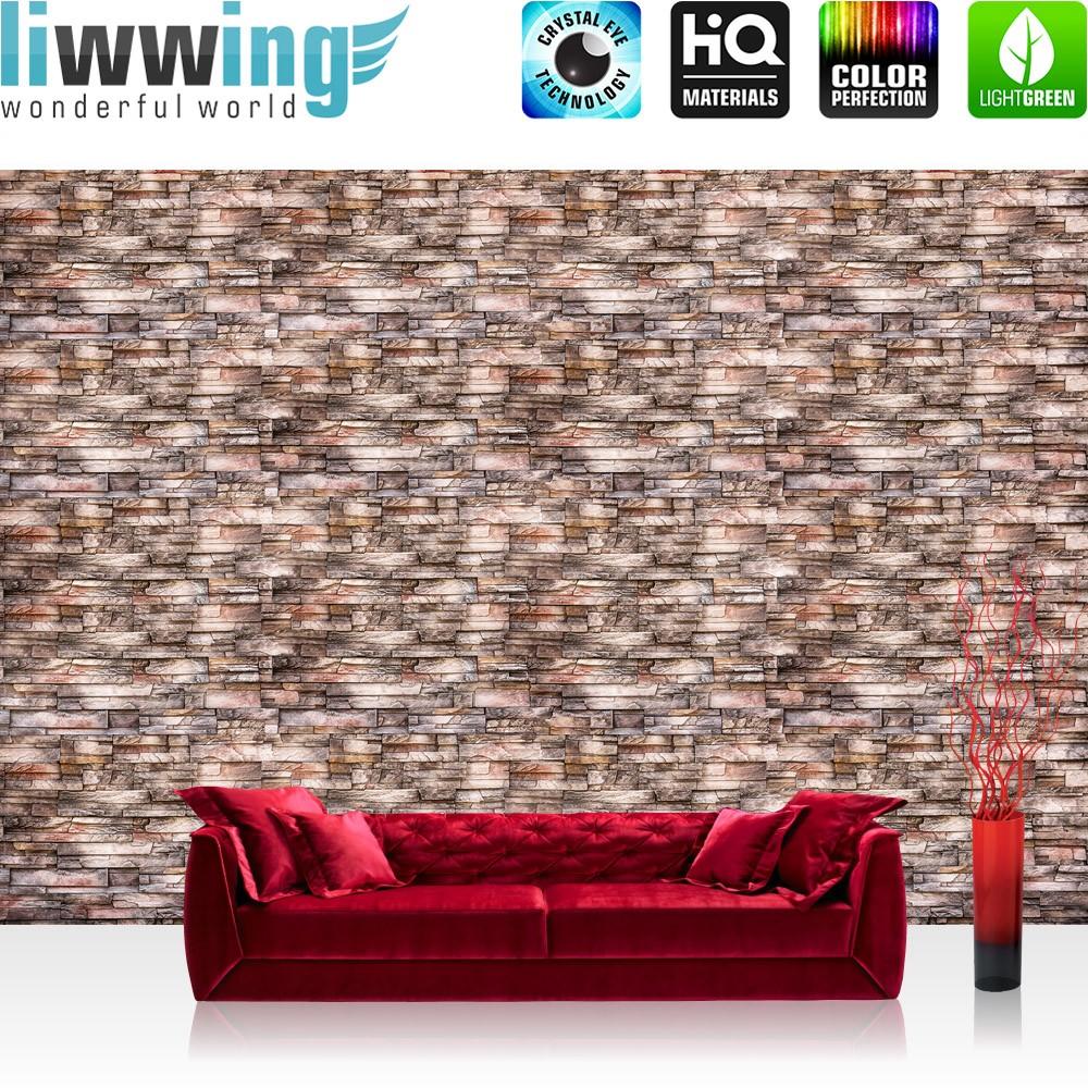 naturstein tapete wohnzimmer : Vlies Fototapete No 3259 Vliestapete Liwwing R Steinwand