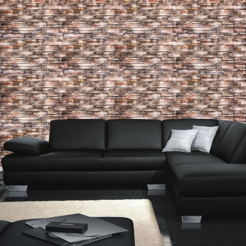 vlies fototapete no 3259 vliestapete liwwing r steinwand tapete naturstein marmor klinker. Black Bedroom Furniture Sets. Home Design Ideas