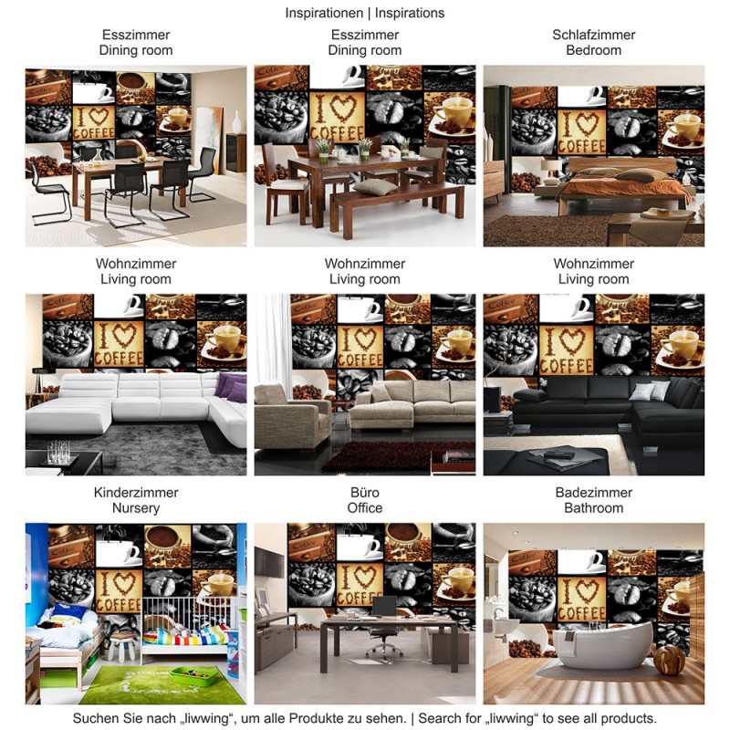 Vlies Fototapete no. 3280 | Vliestapete liwwing (R) Kulinarisches ...