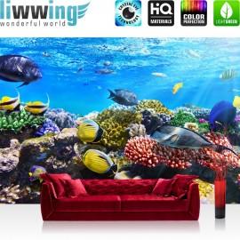PREMIUM Fototapete - no. 105 | Underwater Reef | Aquarium Unterwasser Meer Fische Riff Korallenriff