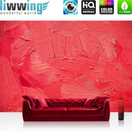 PREMIUM Fototapete - no. 109 | Wall of pink shades | Wand Spachtel Hintergrund farbige Wand pink