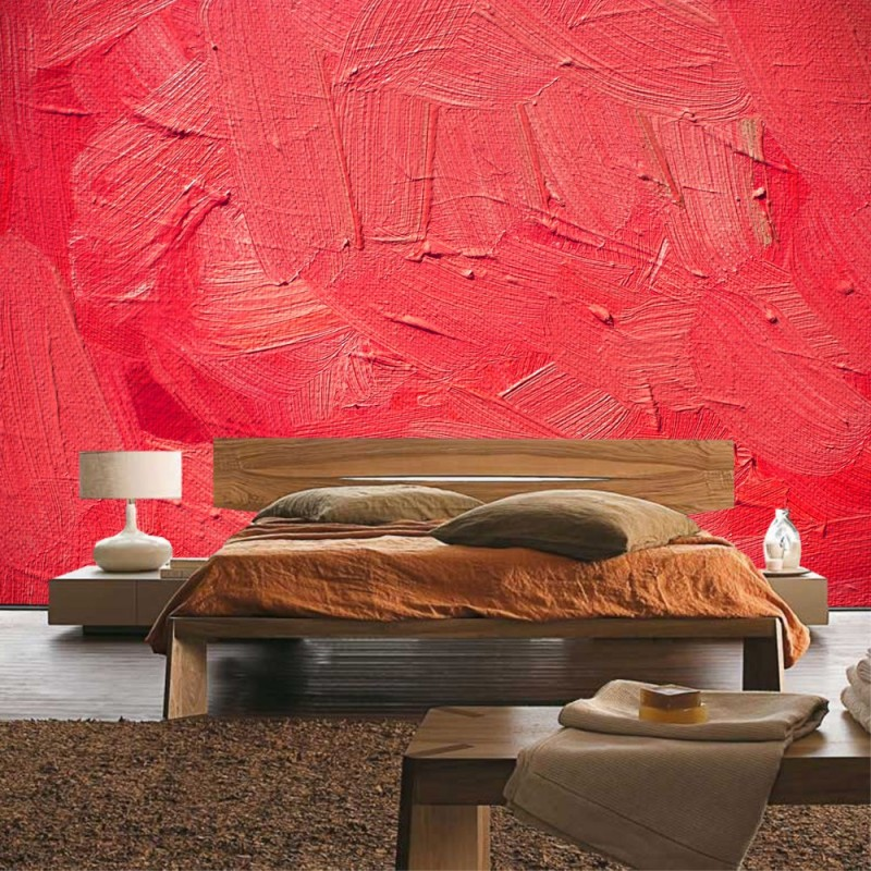 vlies fototapete wall of pink shades kunst tapete wand wischtechnik spachtel hintergrund pink. Black Bedroom Furniture Sets. Home Design Ideas