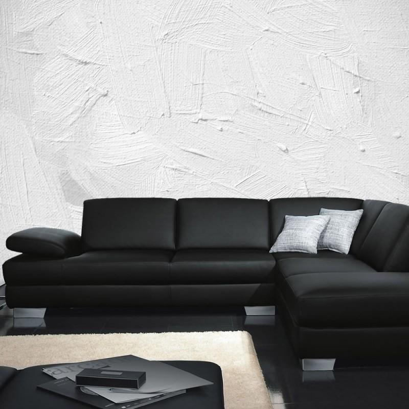 vlies fototapete wall of white shades kunst tapete wand wischtechnik spachtel hintergrund. Black Bedroom Furniture Sets. Home Design Ideas