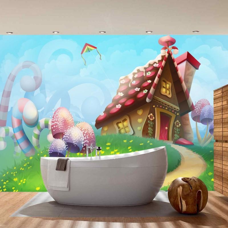 kinderzimmer tapete elfen bibkunstschuur. Black Bedroom Furniture Sets. Home Design Ideas