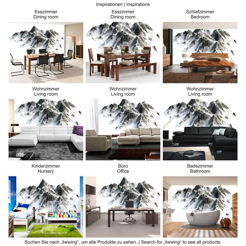 vlies papier peint num ro 3403 montagnes papier peint hautes montagnes montagne ebay. Black Bedroom Furniture Sets. Home Design Ideas